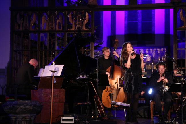 Øyvind Kristiansen (piano), Andreas Haga (kontrabass), Rita Eriksen (vokal), Per Willy Aaserud (trompet)