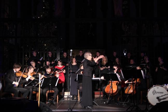 Elisabeth Holte (dirigent) (Foto: Andreas Lie Johansen)