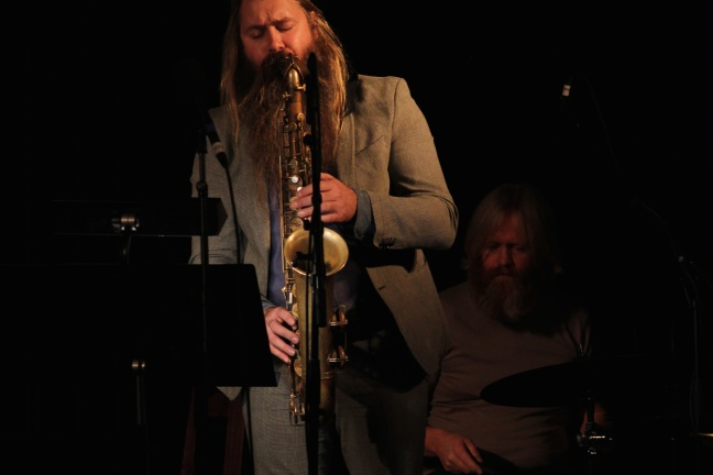 Trygve Seim (saxofoner), Per Oddvar Johansen (trommer) (Foto: Andreas Lie Johansen)