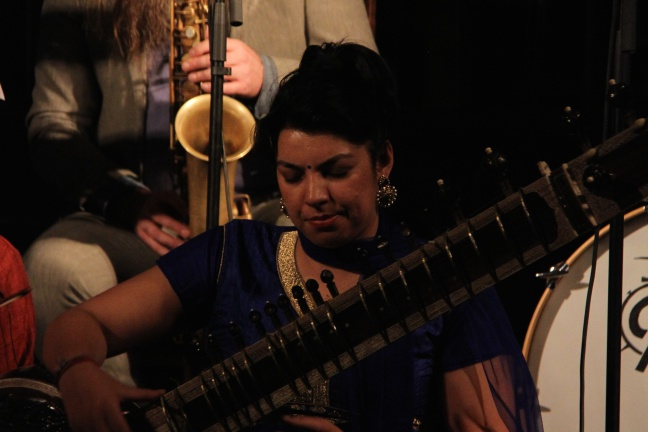 Rohini Sahajpal, Trygve Seim (Foto: Andreas Lie Johansen)