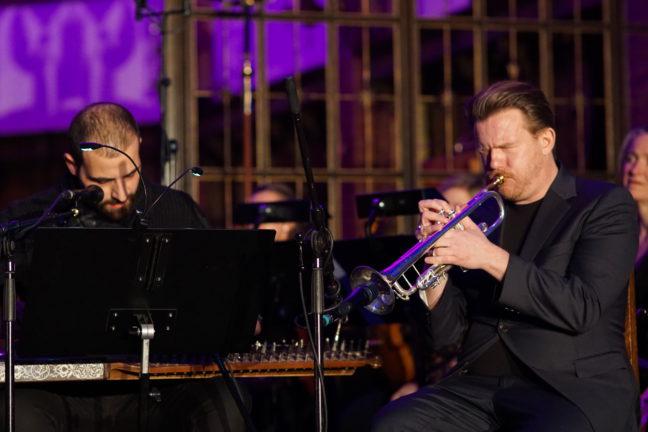 Shafeeq Alsadi (qanun og sang), Karl Strømme (trompet)