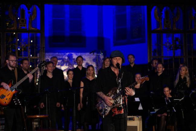 Vidar Busk og Uranienborg Vokalensemble (Elisabeth Holte, dirigent)